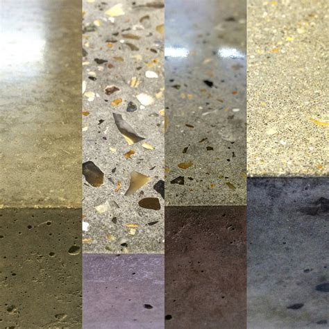 Polished Concrete Worktop Samples   Gallery   Conscious Forms