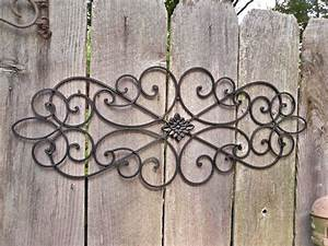 wall art ideas design outdoors kristan designs wrought With wrought iron wall decor ideas