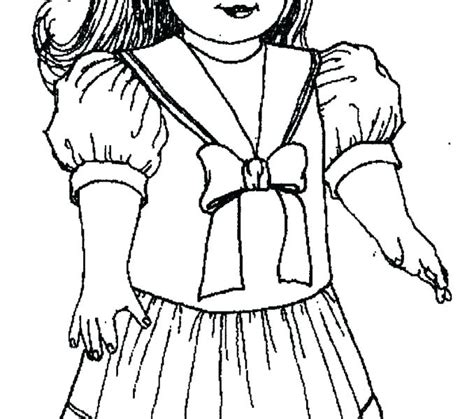 American Girl Coloring Pages Kit at GetColorings com