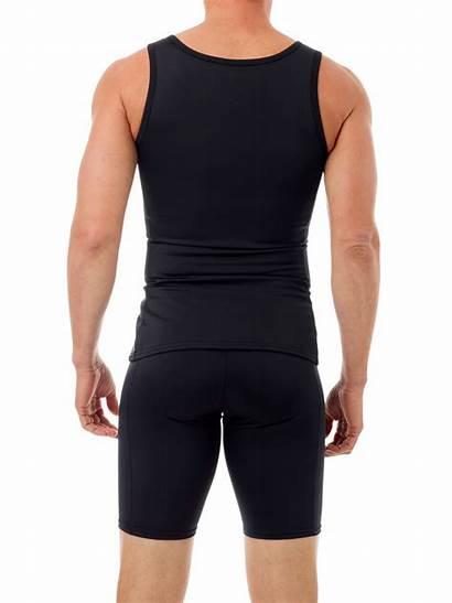 Swim Sleeveless Compression Mens Swimwear Shirts Underworks