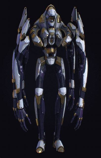 Yuri Artstation Nereta Cyberpunk Concept Robot
