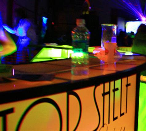 light up bar top shelf to you personal bartenders of southern oregon