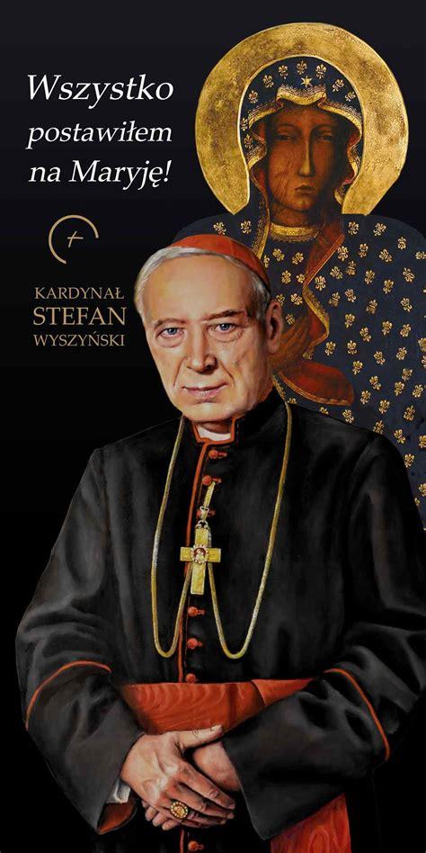 He had a special bond with his father, whom he greatly respected. Kardynał Stefan Wyszyński - Baner okolicznościowy