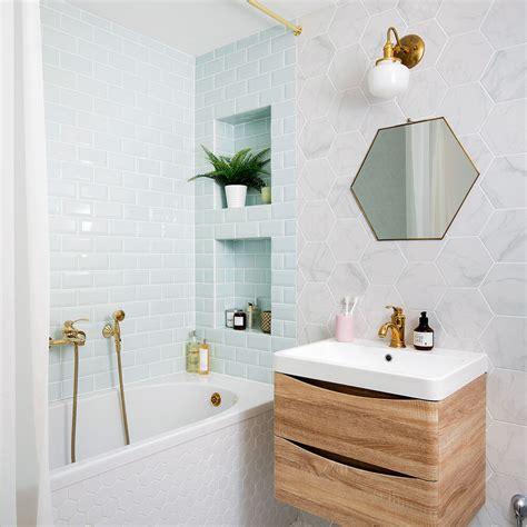 small bathroom tile ideas thatll liven