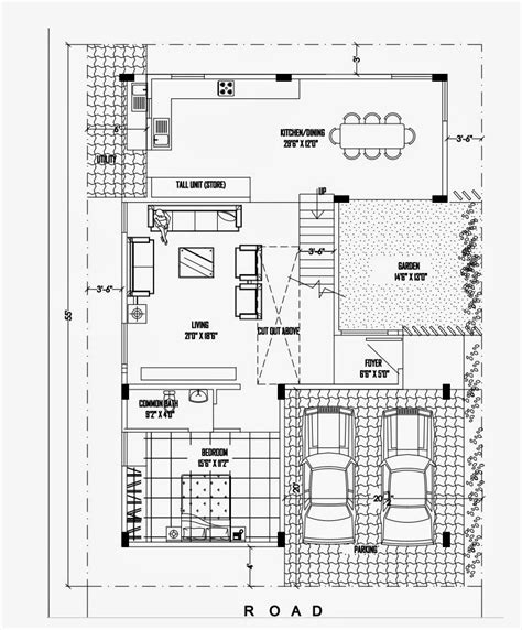 house floor plans with pictures luxurious duplex house plan 40 50 ghar planner