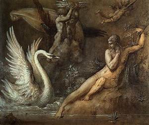 Pin Leda And The Swan Copy Of Lost Painting Leonardo Da ...