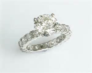 infinity band engagement rings matty platinum eternity band engagement ring