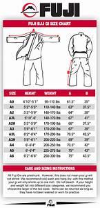 Fuji Size Charts  U2013 Fuji Sports