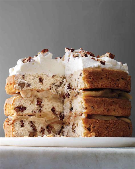 layer cake recipes martha stewart