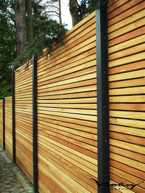 Garten Trennwände Holz by Design Sichtschutz Holz Modern Sichtschutz Minimalistisch