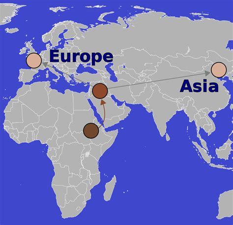 skin color map file convergent evolution human skin color map svg