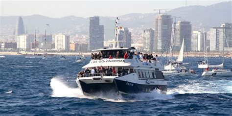 Barcelona Skyline Catamaran Cruise by Boat Trip Along The Barcelona Skyline