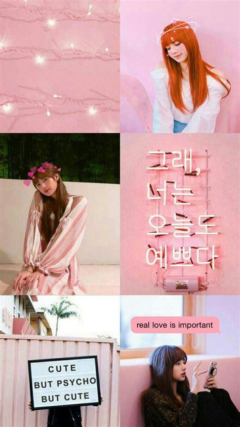pink aesthetic wallpaper of blackpink pink