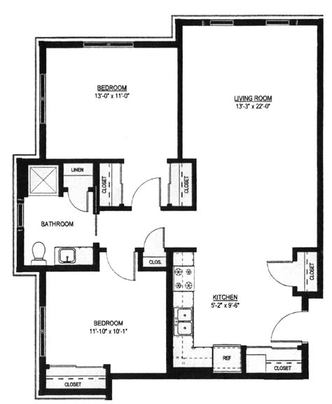 one two bedroom house plans two bedroom floor plans one bath ideas including