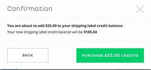 How do i purchase shipping credits on cratejoy cratejoy for How to purchase a shipping label