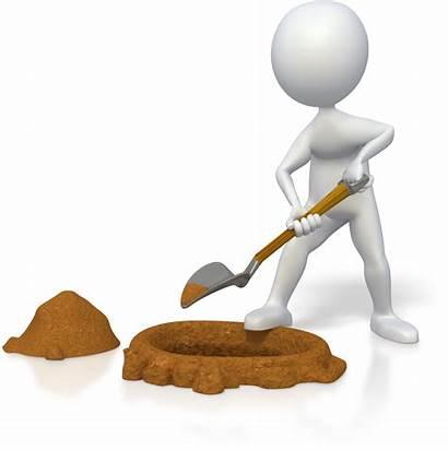 Stick Person Digging Dog Idol Chapter Portfolio