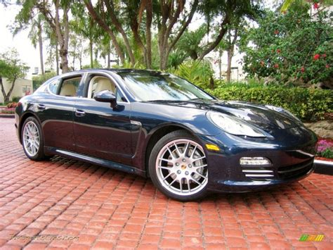 porsche panamera dark blue 2010 porsche panamera 4s in dark blue metallic photo 5