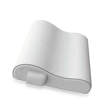 cervical pillow bed bath and beyond soft spa 174 memory foam massaging bath pillow with wireless