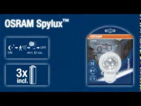 außenle mit bewegungsmelder led spylux osram led leuchte mit intergriertem bewegungsmelder batterie betrieben