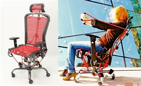 gymygym office chair with built in gymnasium wired