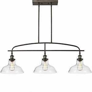 Claxy ecopower kitchen linear island pendant lighting