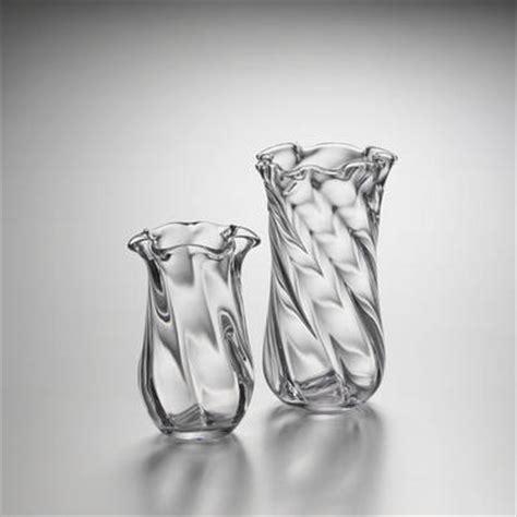 Simon Pearce Vase by Simon Pearce Chelsea Optic Vase Small