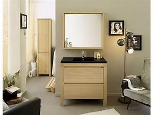 Stunning conforama meuble de salle de bain avec vasque et for Conforama canapé convertible avec tapis de bain design