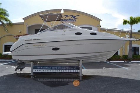 Regal Boats Parts by Used 1999 Regal 258 Commodore Cruiser Boat For Sale In