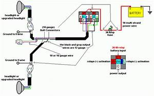 30 Headlight Relay Wiring Diagram