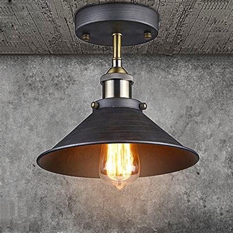 edison ceiling light ecopower industrial mini edison ceiling light 1 light