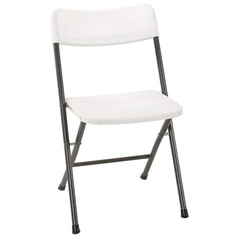 cosco folding chairs canada 4 pk of cosco 174 white resin folding chairs 618779