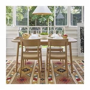 losange table de salle a manger extensible en chene With salle a manger habitat