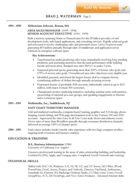 doc 543622 sle chronological resume doc 543622 sle