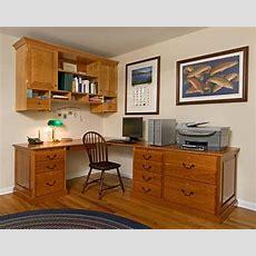 Handmade Custom Home Office Desk And Cabinet By John
