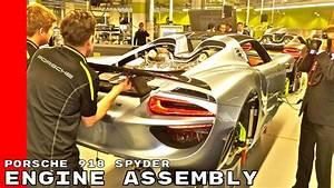Porsche 918 Spyder Engine Assembly Factory