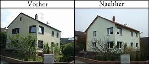 Klinkerfassade Streichen Vorher Nachher : fassadend mmung gipser und stuckarbeiten ~ Markanthonyermac.com Haus und Dekorationen