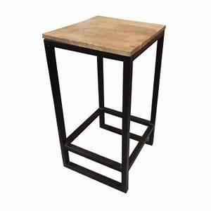Table De Jardin Bois Et Metal : attrayant table jardin avec rallonge 17 table de bar bois et metal evtod ~ Teatrodelosmanantiales.com Idées de Décoration