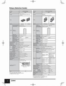 Wiring Diagram Din Rail Socket Krly 2120 Relay