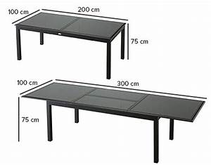 Table De 8 : table de jardin hesp ride extensible azua 8 12 places ~ Dallasstarsshop.com Idées de Décoration