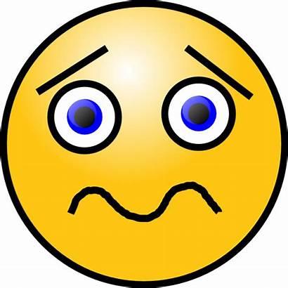 Face Quizzical Clipart Clip Shocked Sad Quizical