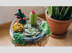 How to Crochet a Terrarium Including 7 Different Succulents