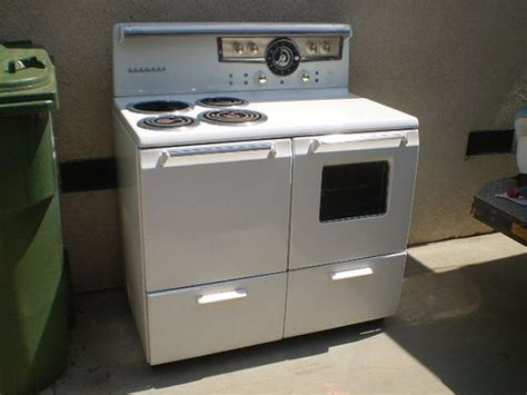 Vintage Sears Kenmore 1950's Electric Double Oven By Spiffytyrant, $299.00