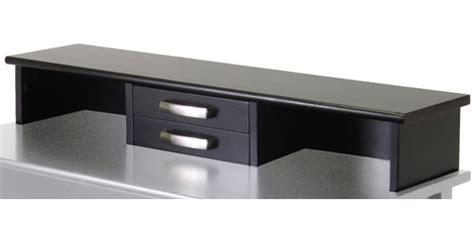 desk hutch organizer black desk hutch espresso in desks and hutches