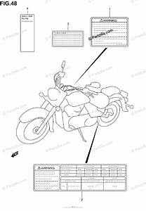 Suzuki Motorcycle 2004 Oem Parts Diagram For Label