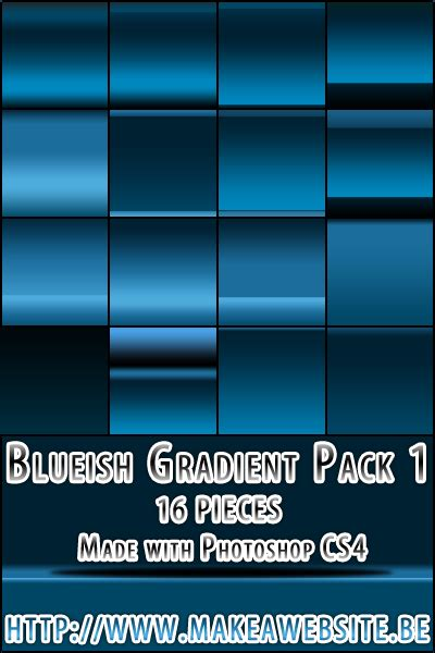 web  photoshop gradients   sets designbeep