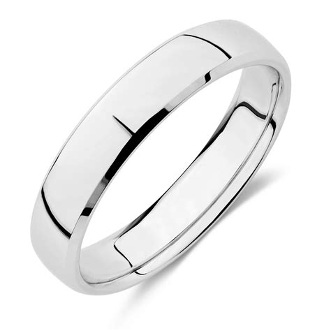 Ee  Wedding Ee   Band In Ct White Gold