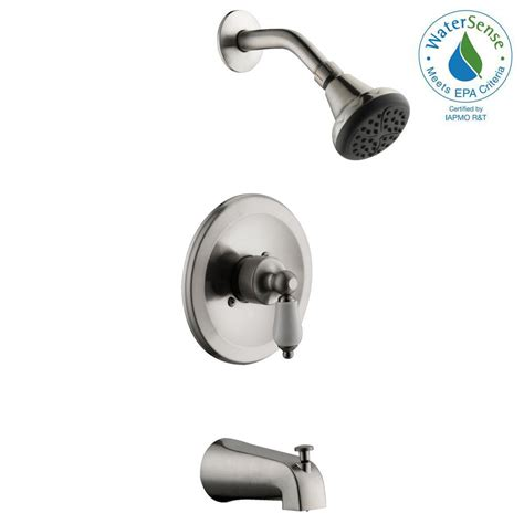 glacier bay kitchen faucet reviews glacier bay teapot single handle 1 spray tub and shower