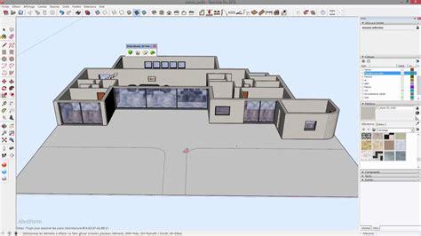 Plan De Maison 3d Tuto Cr 233 Er Une Maison 3d Complexe 224 Partir De Plan En 20 Minutes