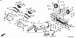 Honda Motorcycle 2018 Oem Parts Diagram For Audio Unit