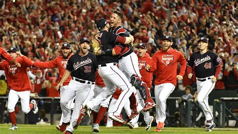 nationals reaching  world series    time  franchise
